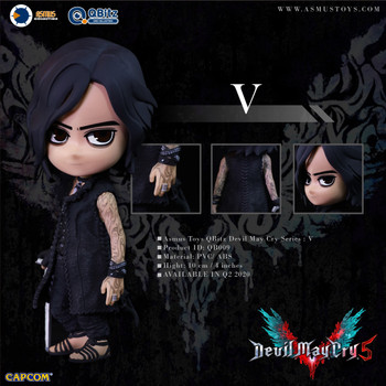 ASMUS TOYS QBITZ DEVIL MAY CRY SERIES 5: V LIMITED ARTICULATION FIGURE (In Stock)