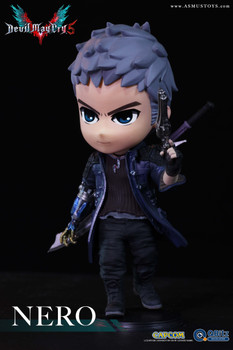 ASMUS TOYS QBITZ DEVIL MAY CRY SERIES 5: Nero LIMITED ARTICULATION FIGURE (In Stock)