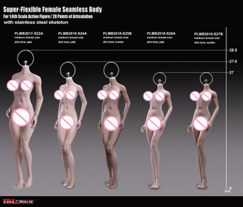 TBLeague Super-Flexible Female Seamless Bodies PLMB2017-S22A ( in stock)
