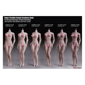 TBLeague PHICEN 1/6 PLMB2017- S21B Super-flexible Seamless Female Figure L Bust Suntan (in stock)