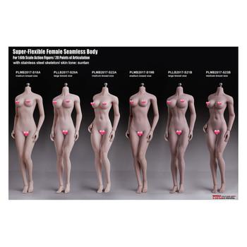 TBLeague PHICEN 1/6 PLMB2017-S19B Super-Flexible Seamless Female Figure M Bust SUNTAN (in stock)