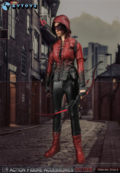 ZY Toys 1/6 ZY16-6 Female Red Arrow Clothing Accessories Set (in stock)