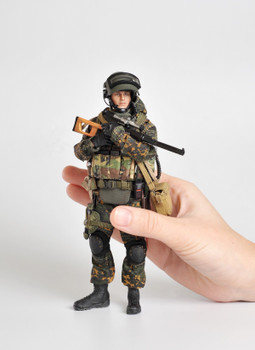 Crazy Figure LW009 1/12 Scale Russian alpha special forces sniper (in stock)