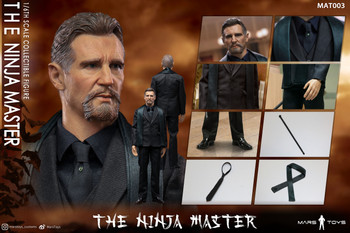 Mars Toys MAT003 1/6 Scale The Ninja Master Costume Set (in stock)