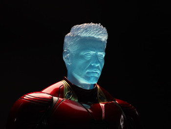 Custom 1/6 transparent hologram male sculpt (in stock)
