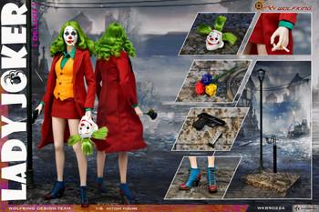 WOLFKING WK89022A 1/6 Female Joker figure (Deluxe edition) (in stock)