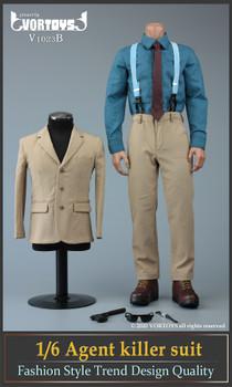 Vortoys V1023B 1/6 Scale Agent Killer Suit Set (in stock)