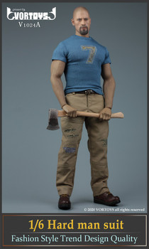 Vortoys V1024A 1/6 Scale Strong man costume set (in stock)