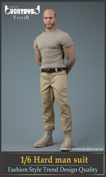 Vortoys V1024B 1/6 Scale Strong man costume set (in stock)