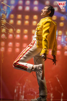 Win.C Studio WC001A 1/6 Freddie yellow jacket costume set (Pre order deposit)