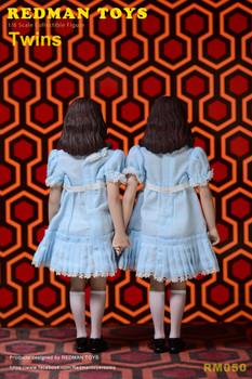 REDMAN TOYS RM050 Twins Girl 1/6 statue Set (Pre order deposit)