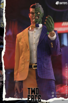 Daftoys F06 1/6 Scale Two Face figure (Pre order deposit)