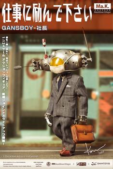 Damtoys x Kow Yokoyama CS020 GansBoy-Boss 1/12 figure (In Stock)