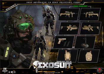 Soldier Story SS122 EXO SKELETON ARMOR SUIT TEST-01 figure (Pre order deposit)
