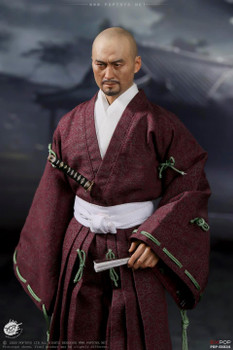 POPTOYS 1/6 EX034 Benevolent Samurai Robes version (Pre order deposit)