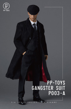 PP-Toys P003A 1/6 Scale Gangster Black Suit set (in stock)