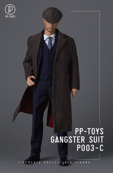 PP-Toys P003C 1/6 Scale Gangster Dark Blue Suit set (in stock)