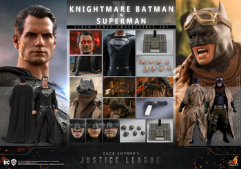 Hot Toys TMS038 Justice League Knightmare Batman and Superman Set (Pre order deposit)