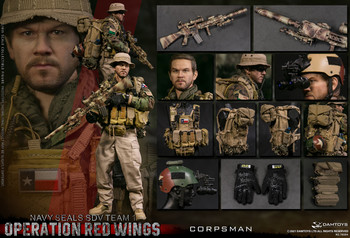 Damtoys 78084 1/6 Operation Red Wings NAVY SEALS SDV TEAM 1 Corpsman figure (Pre order deposit)