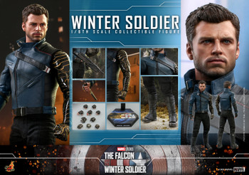Hot Toys TMS039 1/6 Scale WINTER SOLDIER figure (Pre order deposit)