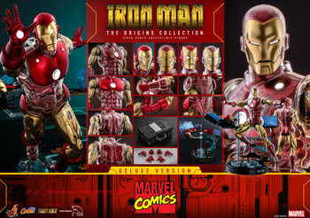 Hot Toys CMS07D38 1/6 THE ORIGINS COLLECTION IRON MAN figure (DX ver) (Pre order deposit)
