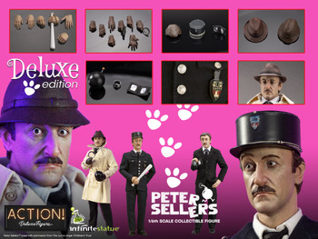 Kaustic Plastik 1/6 Peter Sellers figure DX Version (Pre order deposit)