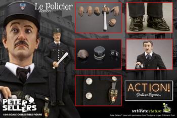 Kaustic Plastik 1/6 Peter Sellers Le Policier ver figure  (Pre order deposit)