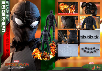 Hot Toys MMS541 SPIDER-MAN: FAR FROM HOME SPIDER-MAN (STEALTH SUIT) (DX VER) (in stock)
