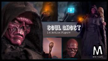 Mini figure MIN001 Soul Ghost 1/6 figure (reissued) (Pre order deposit)
