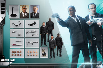 Pctoys PC022C 1/12 scale Man in Black J&K set (Pre order deposit)