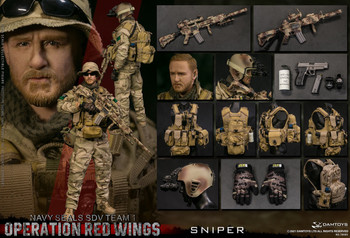 Damtoys 78085 1/6 Operation Red Wings NAVY SEALS SDV TEAM 1 Sniper (Pre order deposit)