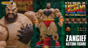 Storm Collectibles 1/12 scale ZANGIEF - Ultra Street Fighter II The Final Challengers (Pre order deposit)