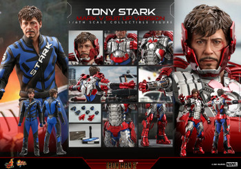 Hot Toys MMS599 1/6 TONY STARK MARK V SUIT UP figure (normal ver) (Pre order deposit)