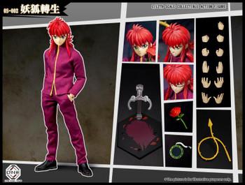 oneshottoys OS-002 1/12 scale Yu Yu Hakusho - Yoko Kurama figure (Pre order deposit)
