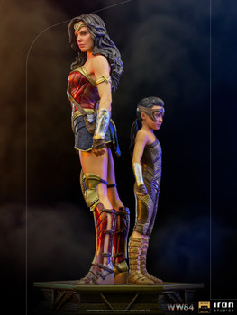 Iron Studios WW84 Wonder Woman & Young Diana Deluxe 1/10 statue (in stock)