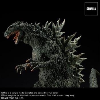 X-PLUS Godzilla 2000 Millennium Maquette Replica Soft Vinyl Ver (Pre order deposit)