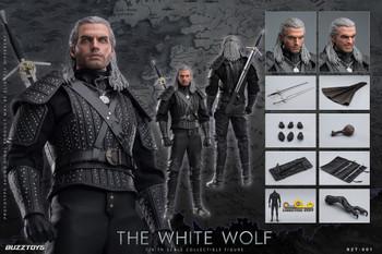 BUZZTOYS BZT001 1/6 Scale The White Wolf figure (Pre order deposit)