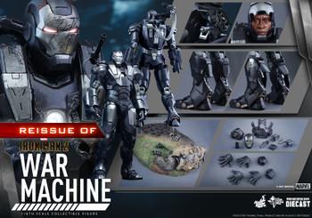 Hot Toys MMS331D13 IRON MAN 2 WAR MACHINE 1/6 figure (Pre order deposit)