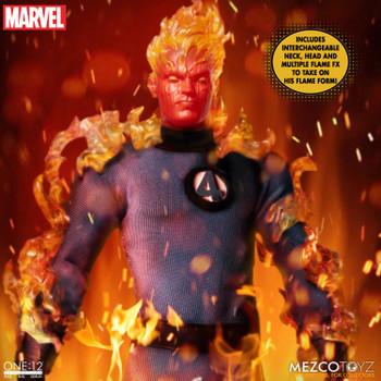 Mezco Toyz ONE:12 COLLECTIVE Fantastic Four Deluxe Boxed Set (Pre order deposit)