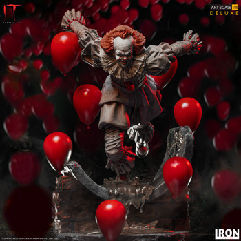 iron studios Pennywise Deluxe Art Scale 1/10 - IT Chapter Two (in stock)