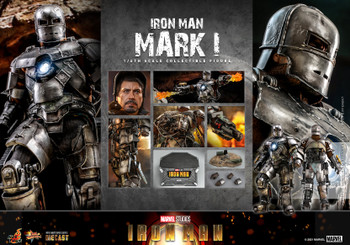 Hot Toys MMS605D40 1/6 Iron Man Mark I Figure (Pre order deposit)