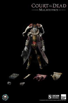 Threezero x Sideshow Court of the Dead 1/6 Malavestros figure (Pre order deposit)