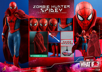 Hot Toys TMS058 1/6 Scale ZOMBIE HUNTER SPIDEY (Pre order deposit)