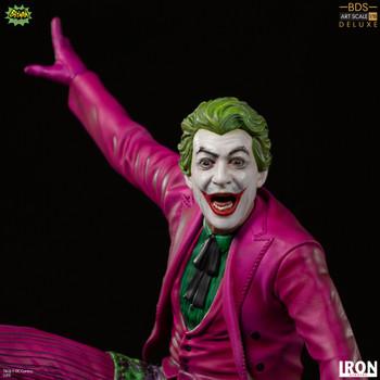 Iron Studios The Joker Deluxe BDS Art Scale 1/10 - Batman 66 (in stock)
