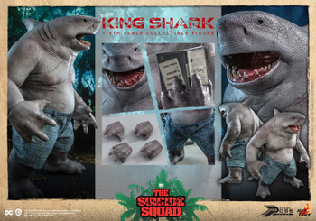 Hot Toys PPS006 1/6 the King Shark figure (Pre order deposit)
