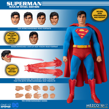 Mezco Toyz 76553 ONE:12 COLLECTIVE Superman - Man of Steel Edition (Pre order deposit)