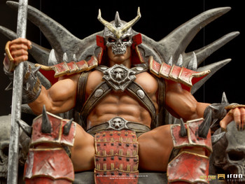 Iron Studios Shao Khan Deluxe Art Scale 1/10 - Mortal Kombat statue (in stock)