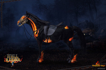 Thunder Toys TD2023C 1/6 Scale Hell Horse (Pre order deposit)