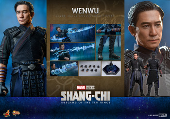 Hot Toys MMS613 1/6 Scale Shang-Chi WENWU (Pre order deposit)