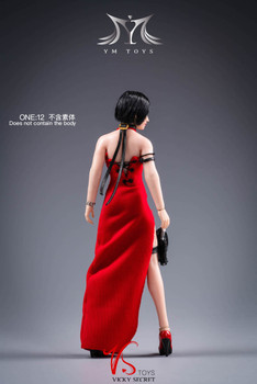 YMToys YMT028 1/12 scale Ada head sculpt with costume (in stock)